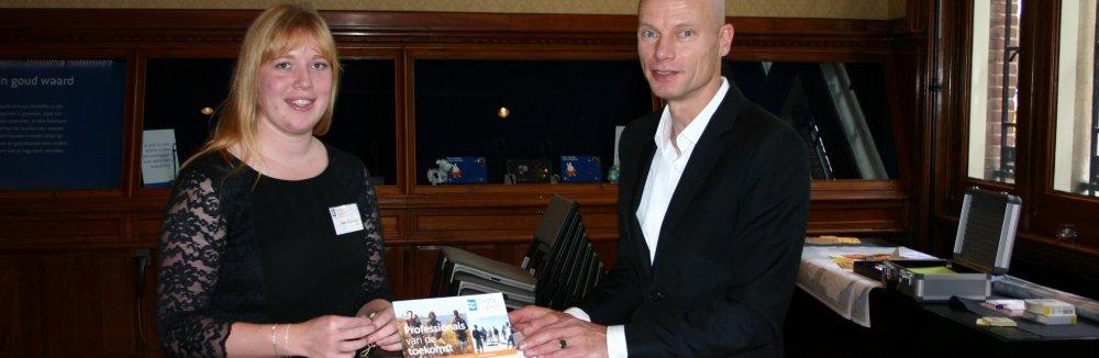 Delta Talent student en watergezant Henk Ovink op het Ecoshape Congres