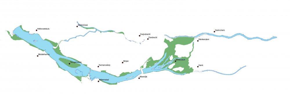 Projectgebied Benedenrivierengebied